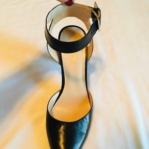 Nine West Shoes - Nine West Leather Ackley Ankle Strap Pumps - 8.5